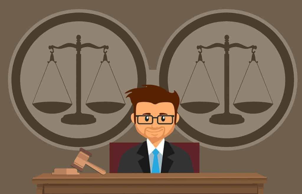 שופט עם מאזניים